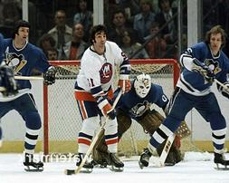 1975 Pittsburgh Penguins vs New York Islanders Game Action C