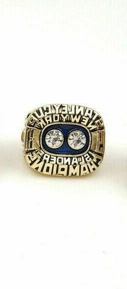 1981 New York Islanders Stanley Cup Championship Ring 18k HE