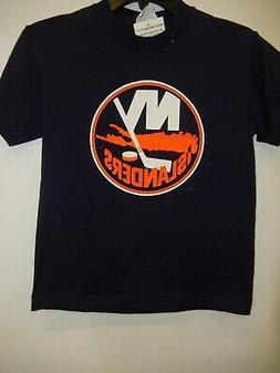 8260 YOUTH BOYS Majestic NEW YORK ISLANDERS Hockey Jersey SH