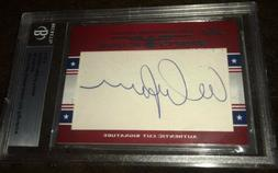 AL ARBOUR 2011 Leaf Vintage Sport Icon Cut SIGNATURE AUTO NH
