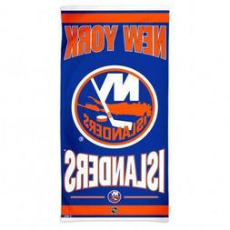 """Beach Towels 30"""" x 60"""" Fiber Reactive - NHL New York Islande"""