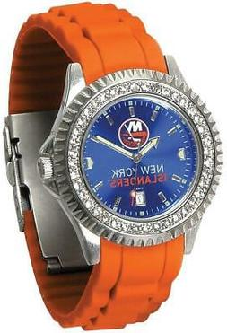 Gametime New York Islanders Ladies Sparkle Watch