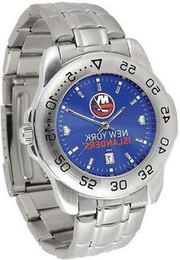 Gametime New York Islanders Sport Steel Watch