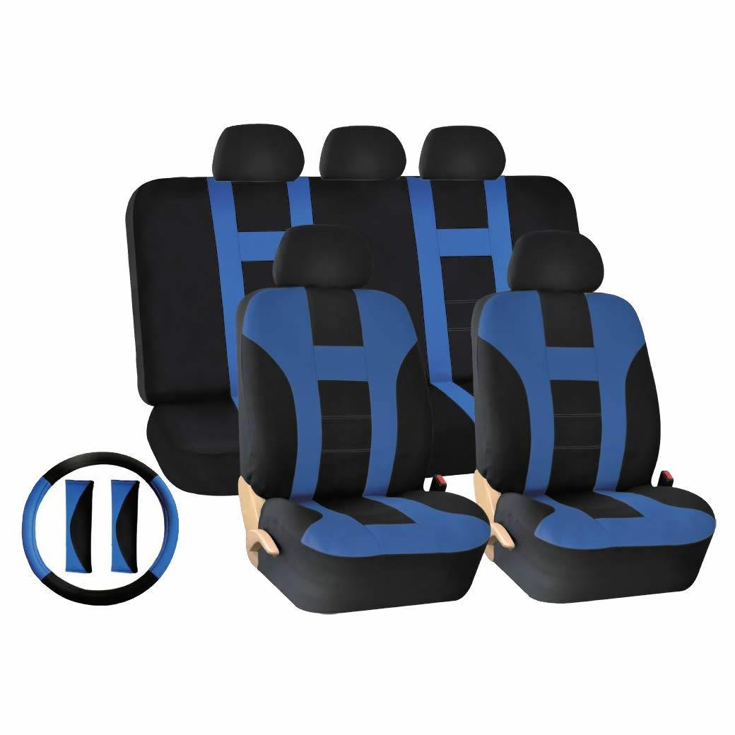 14 PC Universal-fit Seat Covers for NHL York Islanders