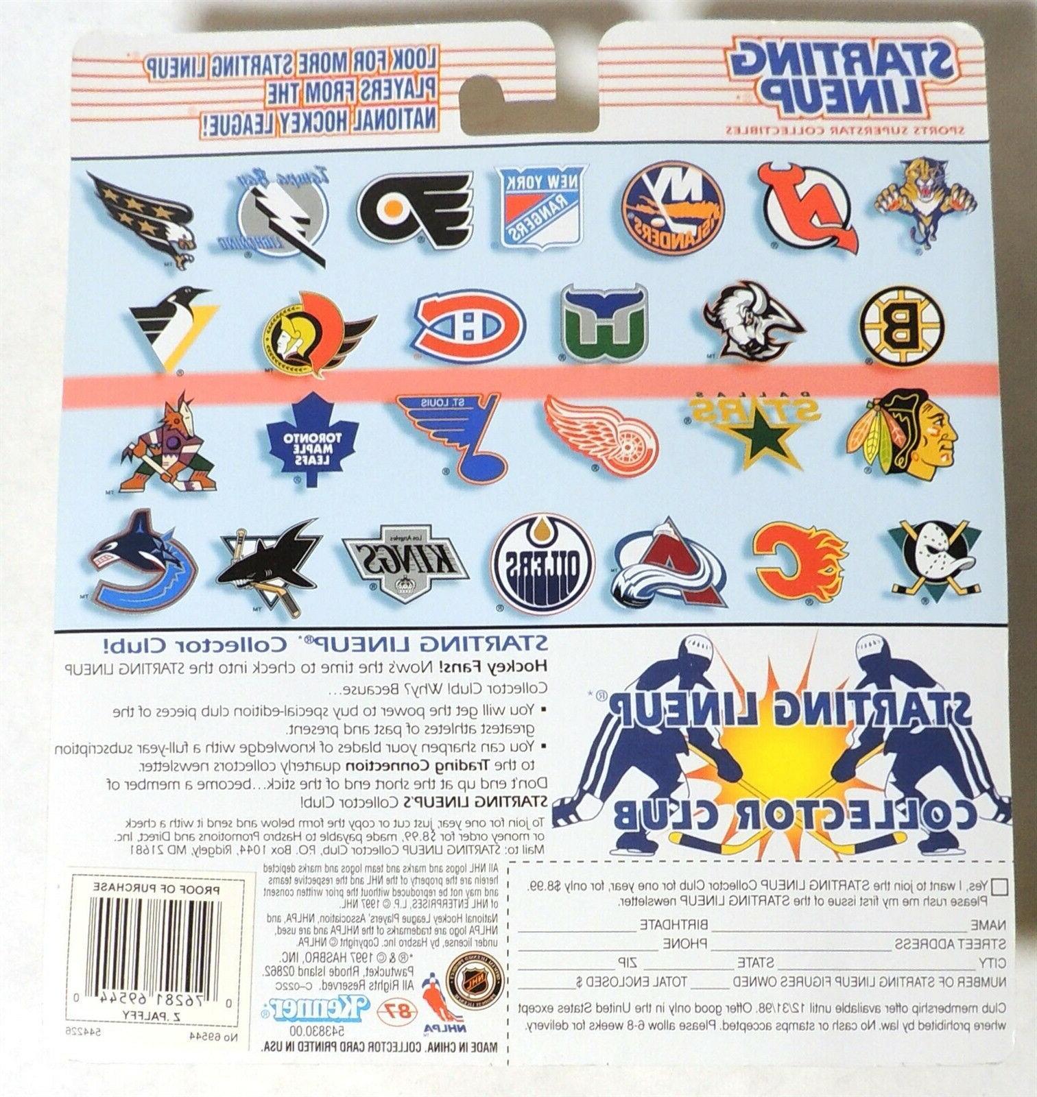 ESAR1797. Starting Lineup York Islanders ZIGMUND Figure