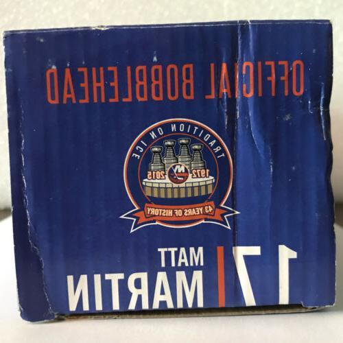 Matt Martin #17 York Islanders Limited Bobblehead
