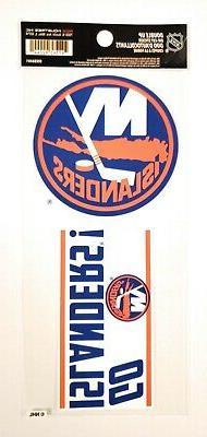 New York Islanders Double UP Decal Sheet Slogan Sticker Auto
