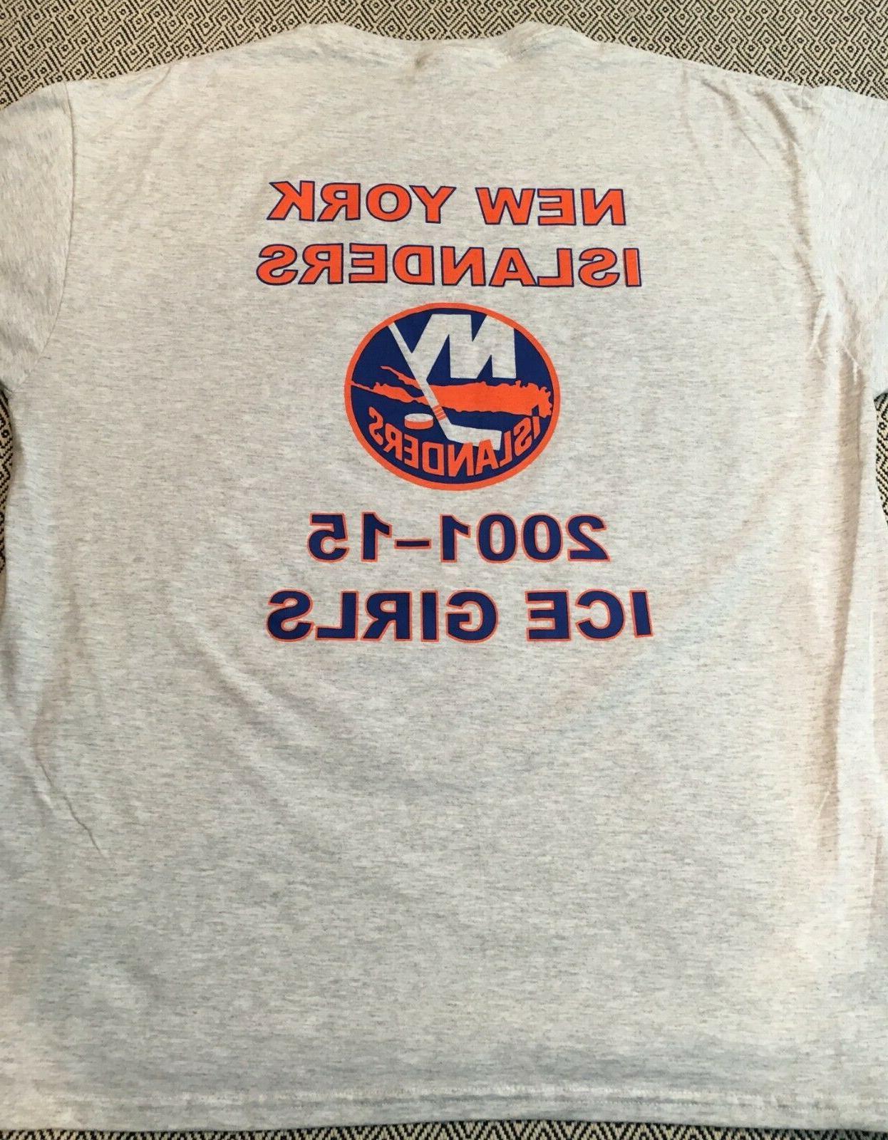 New York Islanders Girls Banner T-Shirt