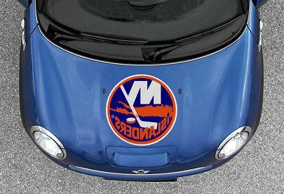 New Islanders NHL Color Die Vinyl Sticker Car Bumper