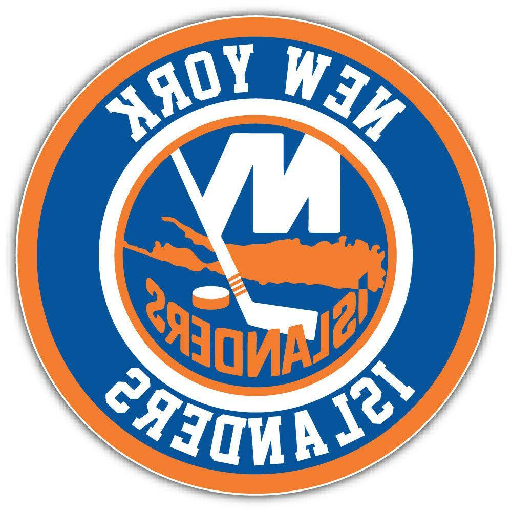 new york islanders logo nhl sport car