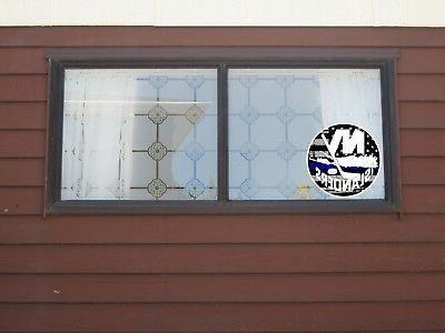 New York Islanders NHL Thin Die Vinyl Decal cornhole