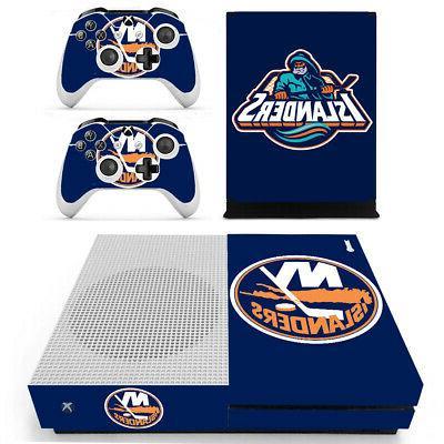 New York Islanders XBOX ONE S Skin Sticker Decal Vinyl Conso