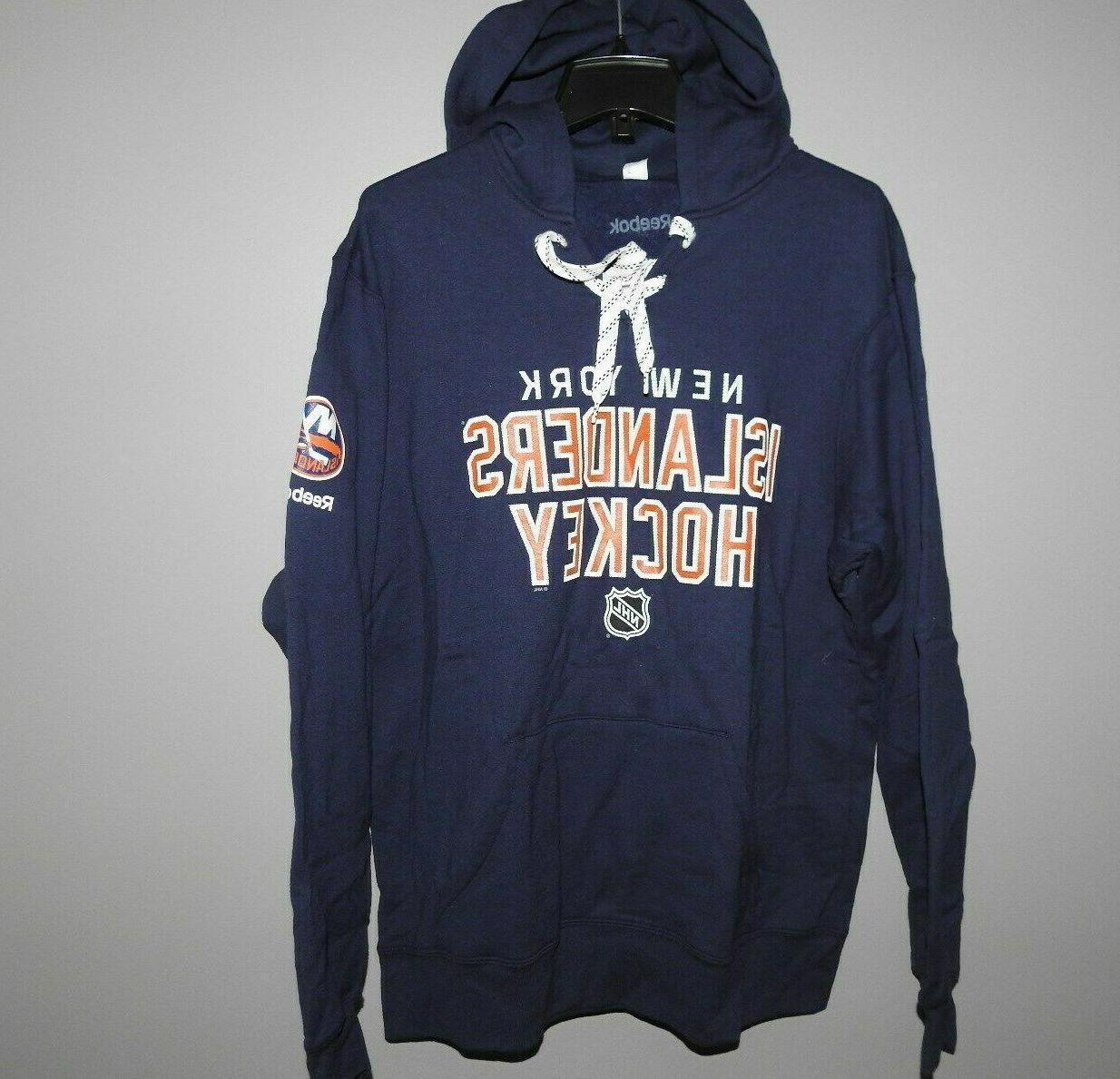 nhl new york islanders hooded sweatshirt new