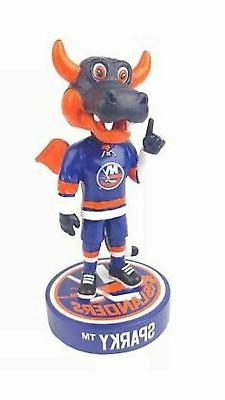 sparky mascot new new york islanders bobblehead