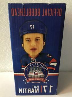 Matt Martin #17 New York Islanders Limited Edition Bobblehea