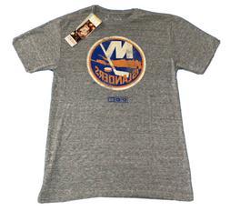 Mens Medium New York Islanders CCM Gray T Shirt New