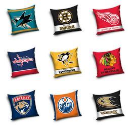 NHL National Hockey League Fan Pillow Cushion Decorative 15