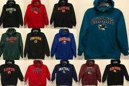 New NHL Boy's Hoodie Winter Hooded Sweatshirt Hockey Shirts
