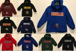 New NHL Infant Toddler Hoodie Kid's Winter Hooded Sweatshirt