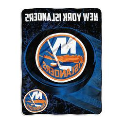 New NHL New York Islanders Soft Micro Rasche Large Throw Bla