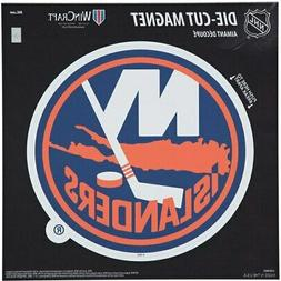 "New York Islanders 12"" x 12"" Car Magnet"