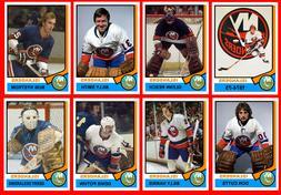 NEW YORK ISLANDERS 1974-75 High Grade NHL Custom Made Hockey