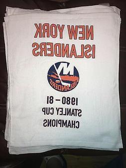 New York Islanders 1980-1981 Stanley Cup Champion Banner Ral