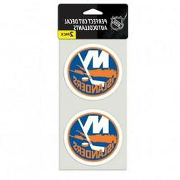 "New York Islanders 2 Pack 4""x4"" Auto Decals  NHL Car Emblem"