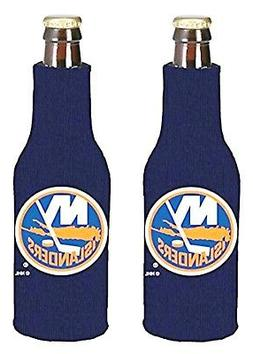New York Islanders 2-Pack Zipper Bottle Neoprene Beverage In