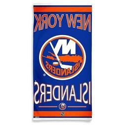 """NEW YORK ISLANDERS 30""""X60"""" FIBER BEACH TOWEL BRAND NEW FREE"""