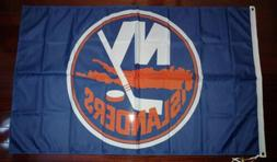 New York Islanders 3x5 Flag. US seller. Free shipping within