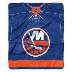 New York Islanders 50 x 60 Jersey Raschel Blanket
