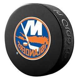New York Islanders Basic Logo Souvenir Hockey Puck By Sher-W