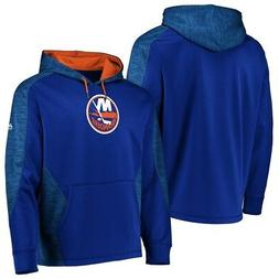 New York Islanders Blue Armor Thermabase Hooded Sweatshirt H