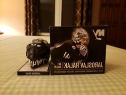 New York Islanders/Boston Bruins Jaroslav Halak Mini Helmet