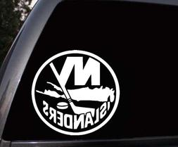 New York Islanders Car Window Truck Laptop Vinyl Decal Stick
