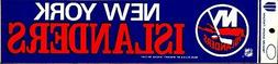 New York Islanders Classic Logo ~ Licensed Bumper Sticker