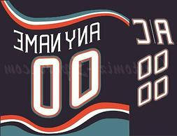 New York Islanders Customized Number Kit for 1995-98 Vintage