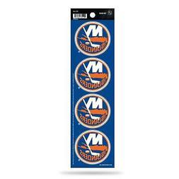 New York Islanders Decal Car Sticker The Quad 4 Pack Sticker