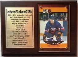 New York Islanders Denis Potvin Hockey Card Plaque