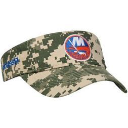 Reebok New York Islanders Digital Camo Adjustable Visor