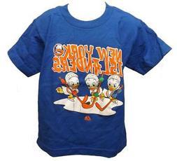 New York Islanders Disney Ducks Kids Size  S Small Majestic