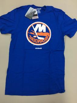 NEW YORK ISLANDERS Reebok Face Off NHL Primary Logo Mens T S