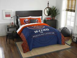 "New York Islanders  Full/Queen Comforter & Shams Set ""Draf"