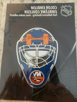 "New York Islanders Helmet Reflector Shield Decal 4"" x 3"""