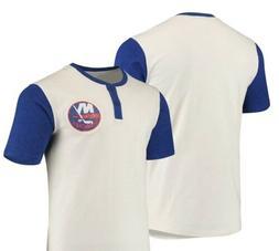 New York Islanders Henley T-Shirt **BRAND NEW**  Size Medium