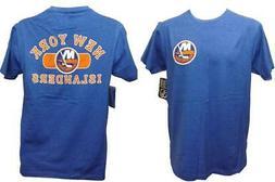 New York Islanders Hockey Mens Sizes S-M-L-XL-2XL Blue 2-Sid