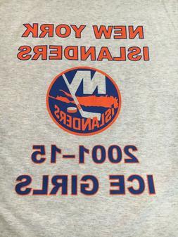 New York Islanders Ice Girls Banner Nassau Coliseum T-Shirt