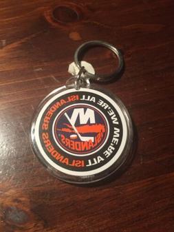 New York Islanders Keychain We're All Islanders Vintage