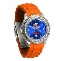 "New York Islanders Ladies ""Sparkle"" Wrist Watch"